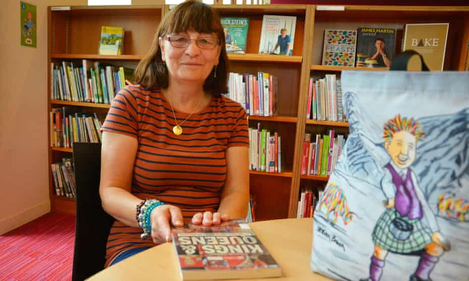 Margaret Telfer in Corby Library