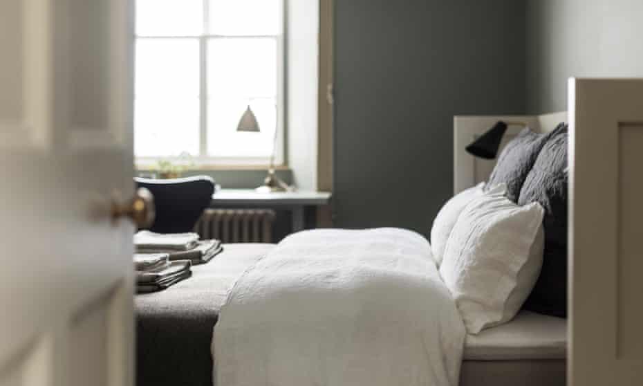 Bedroom at Killiehuntly, Kingussie, Highlands, UK