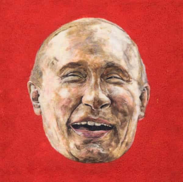 A felt Vladimir Putin.