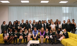 When we were 10 in 2012, pupils from Loxford School took over the Education Centre for the day and Coombe Girls School got to interview the editor.