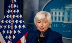 Janet Yellen said: 'As our economy continues to heal, it's important to consider ways in which we can build back better.'