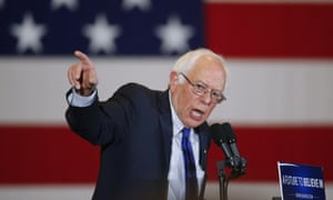 Democratic presidential candidate Bernie Sanders at a campaign event on Monday in Milwaukee.