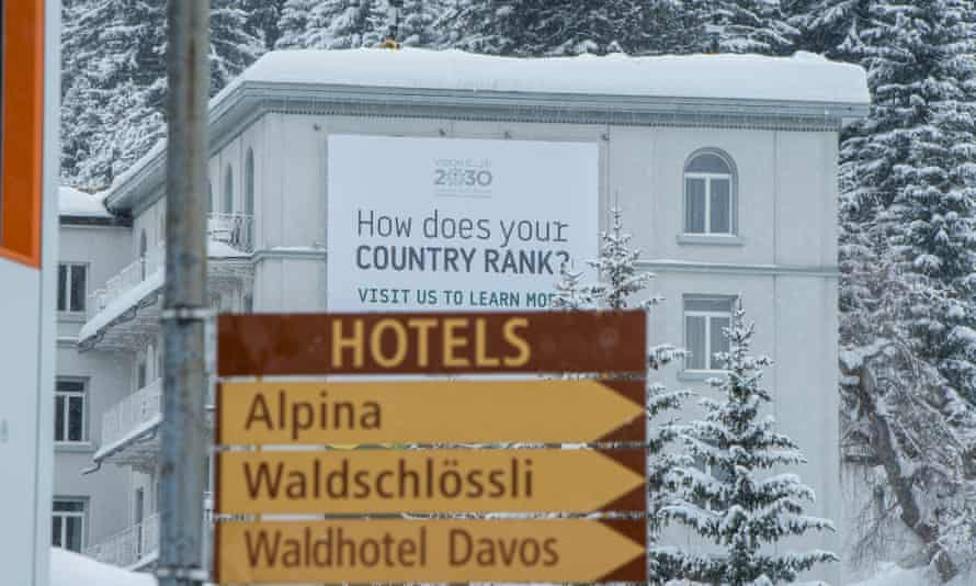 Signs point to resort hotels.