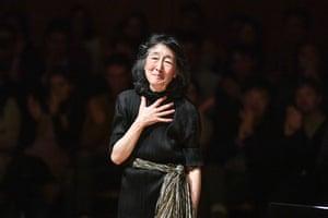 Mitsuko Uchida at the Royal Festival Hall
