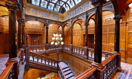 The upper gallery at Two Temple Place in London, which Richard Hoare bought and opened to the public.