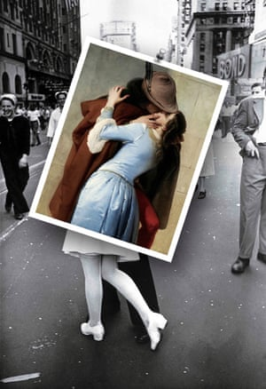 The Kiss by Francesco Hayez photographed by Michael Thibault