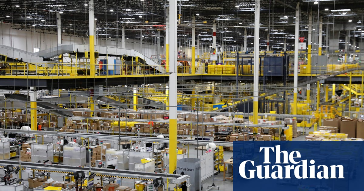24 US Amazon workers hospitalised after robot sets off bear repellent