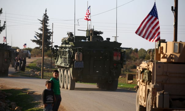 05f870a68e8 Arrival of US troops intensifies struggle for influence in Syria | World  news | The Guardian