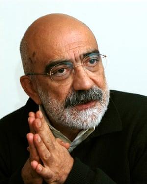 The author Ahmet Altan.