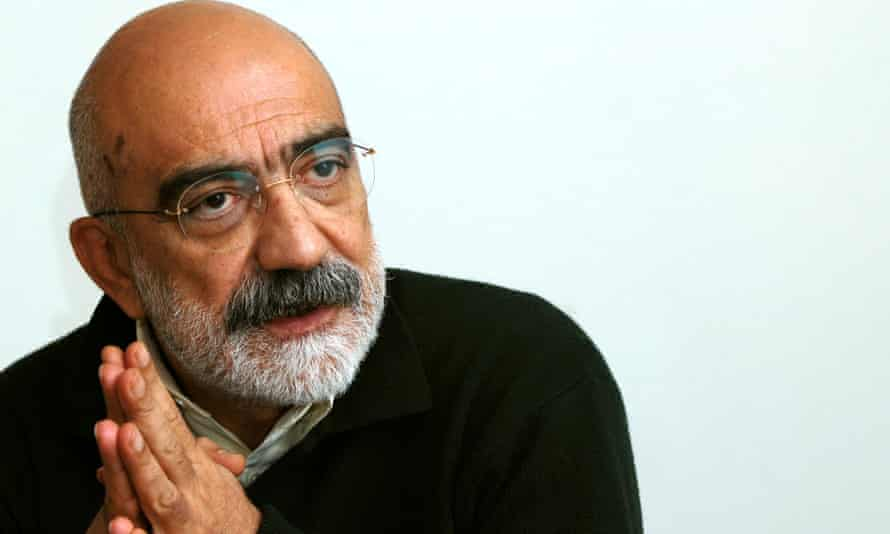 Ahmet Altan, pictured during his time as editor of Taraf newspaper.