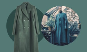 Cape coat, £199, & Other Stories; Serena Joy from The Handmaid's Tale
