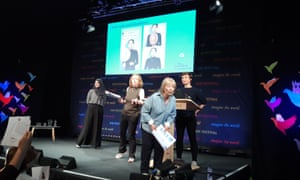 Students enjoyed making judgements on recent news stories in sessions at Hay Festival Programme for Schools.