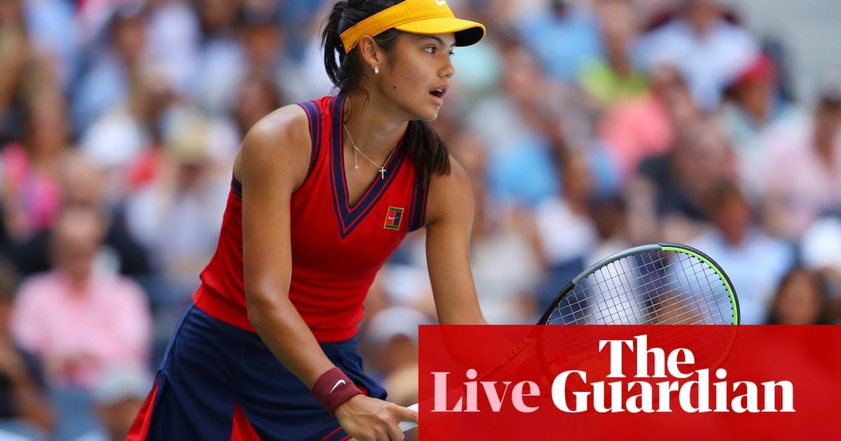 Emma Raducanu v Maria Sakkari: US Open women's semi-final – live!