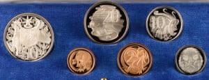 Stuart Devlin decimal coins