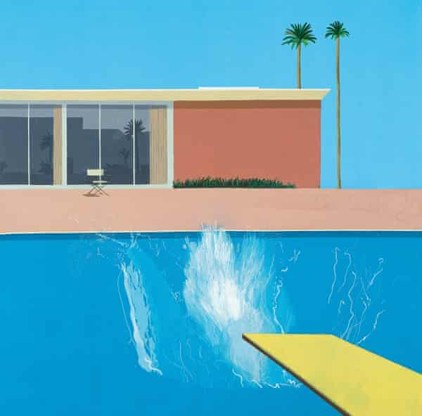 A Bigger Splash, 1967, by David Hockney, was purchased by Bowness for the Tate collection