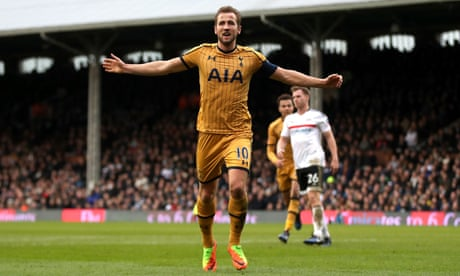 Harry Kane hat-trick eases Tottenham past Fulham and into FA Cup's last eight