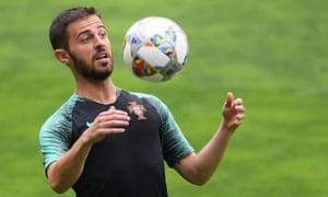 Bernardo Silva is a key member of the Portugal squad