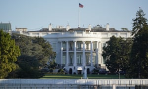 The White House on Saturday. As Trump's conditioned worsened on Friday, staff were also forced to confront the possibility that his health could be at serious risk.