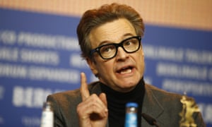 'An era of rampant exhibitionism' … Colin Firth at the Berlin press conference for Genius