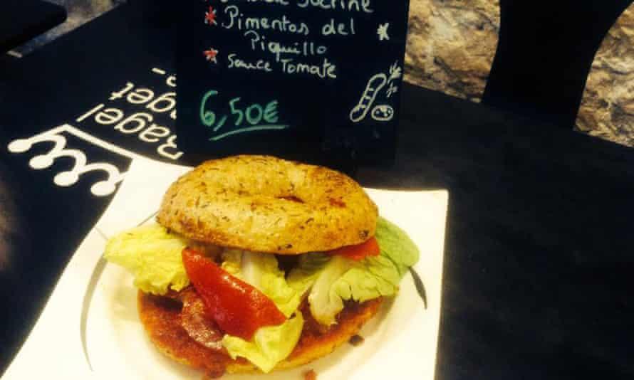 Bagel Baget Café, Paris