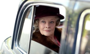 Dame Judi Dench in My Week With Marilyn