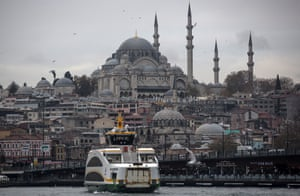 Millions of people use Istanbul's ferries to navigate the crowded city.