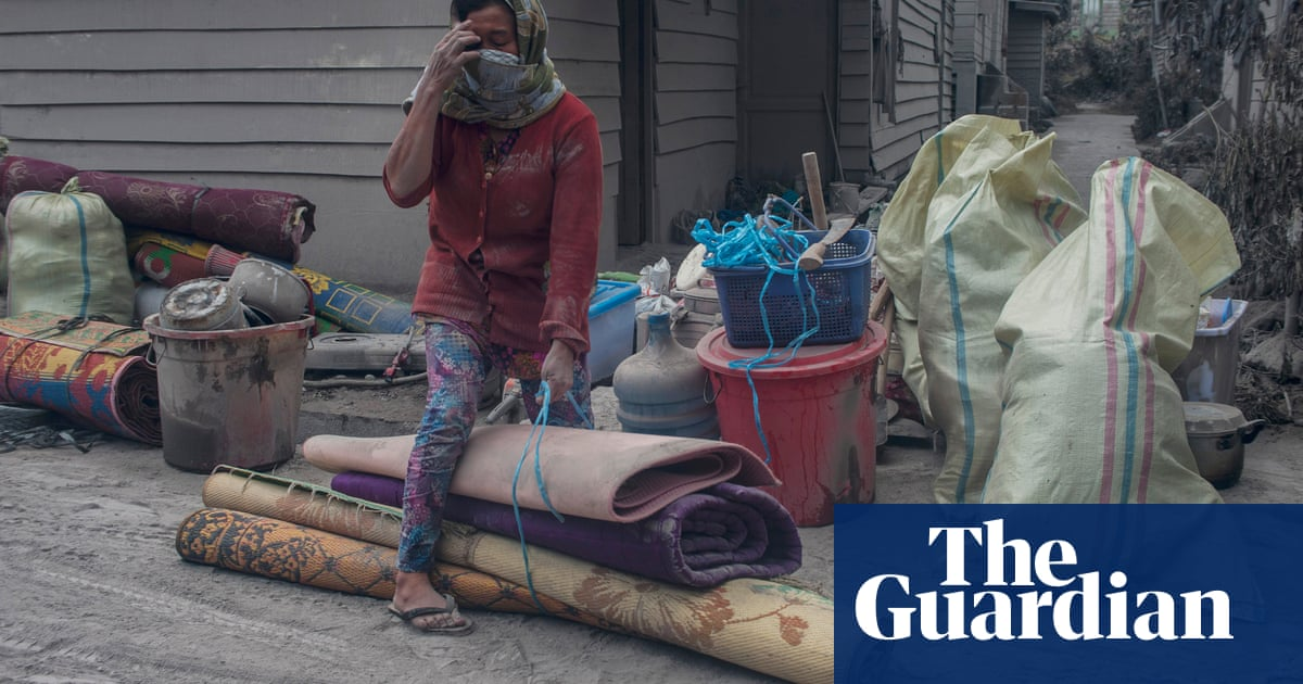Aftermath of Indonesia's volcanic eruptions – in pictures | Art and