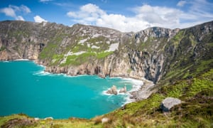 Slieve League, Donegal, are among the highest cliffs in western Europe.