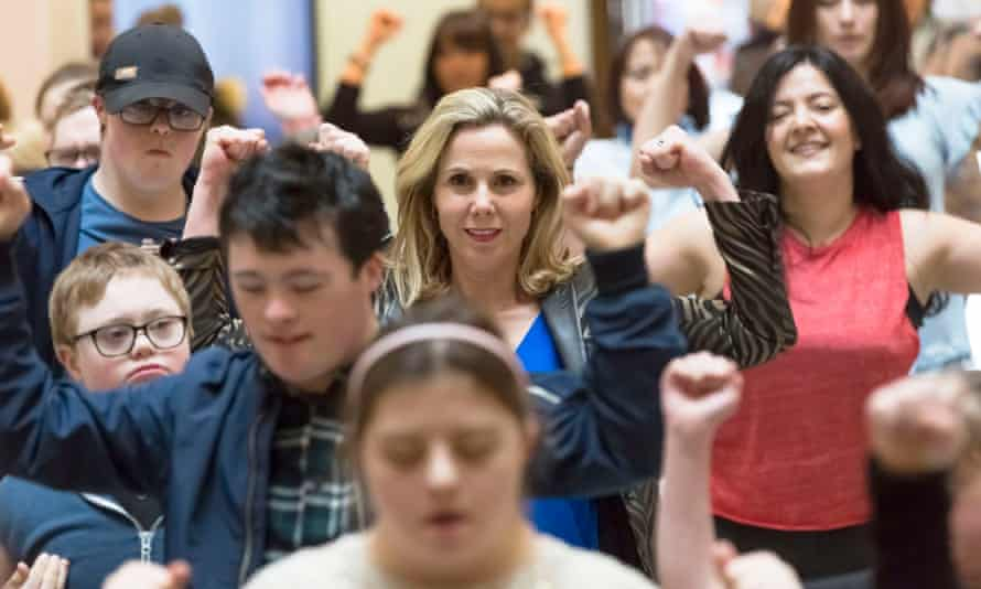 Sally Phillips in a scene from A World Without Down's Syndrome?
