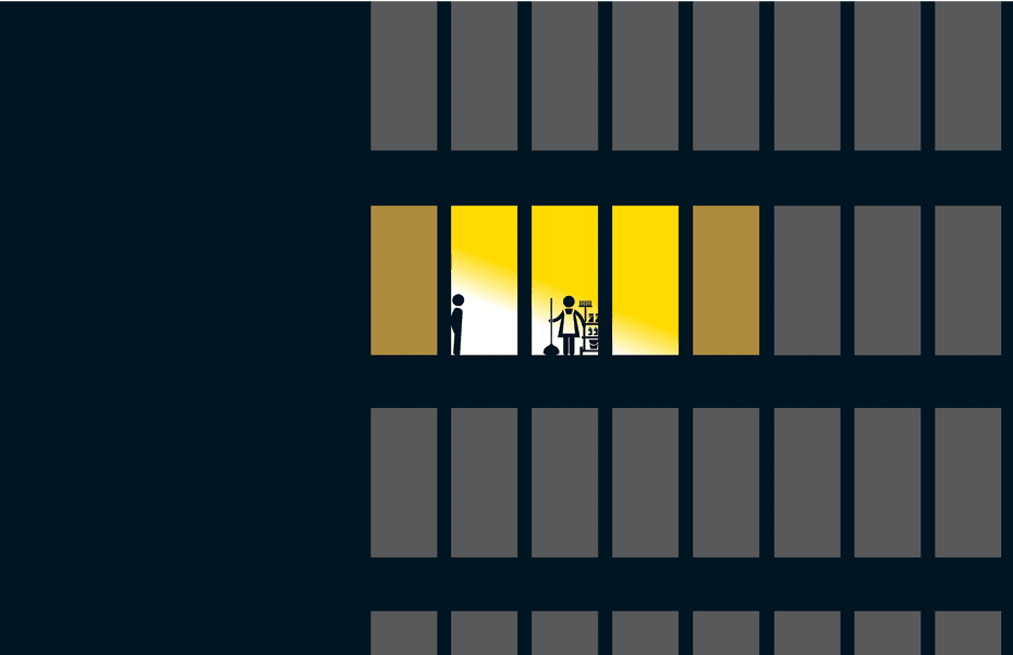 night shift harassment illustration