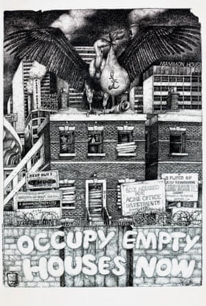 Occupy Empty Houses Now, 1976, Anonymous