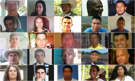 Victims in Colombia following Farc withdrawal