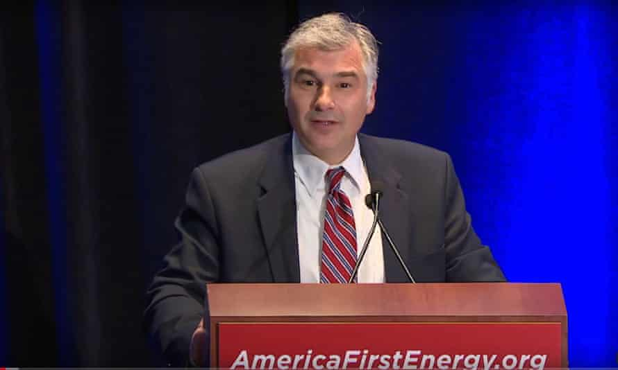 Vincent DeVito has described his role as 'the office of energy dominance' and once said in a speech: 'The war on American energy is over.'