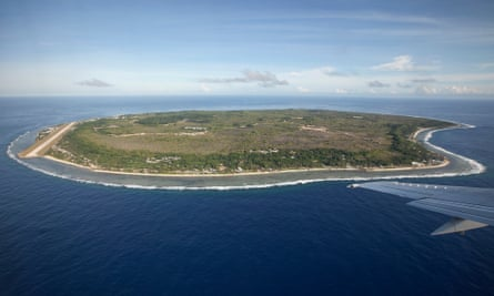 Nauru in the South Pacific.