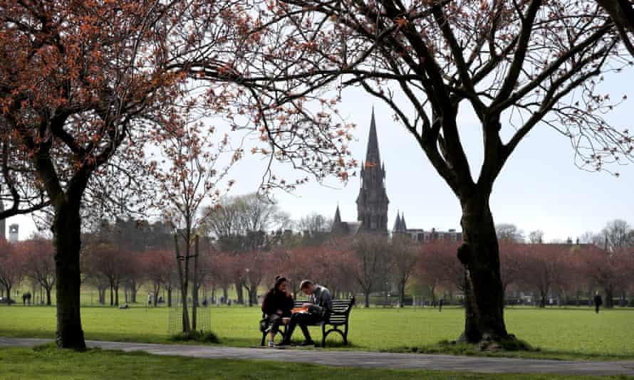 The Meadows, Edinburgh.