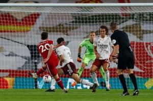 Diogo Jota scores on his debut.