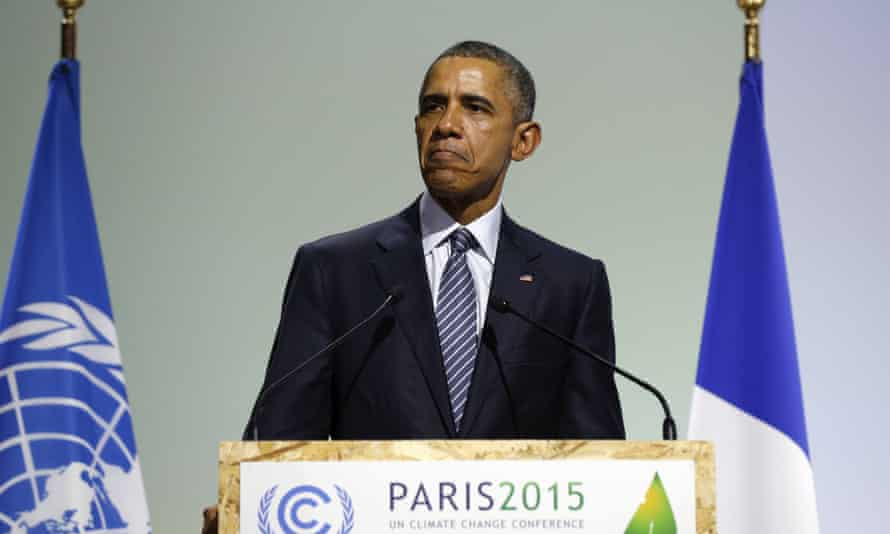 Barack Obama Paris 2015