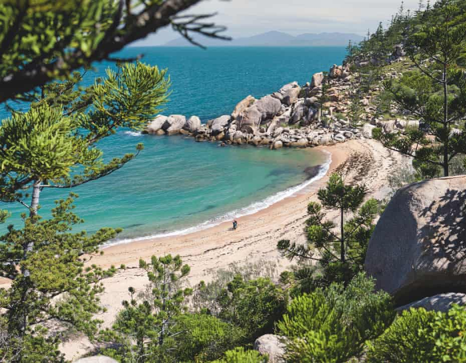 Despite Magnetic Island being such a popular destination, there are so many spots to swim that you rarely share a beach with a more than a handful of people