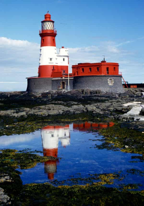 Longstone lighthouse on the Farne Islands where Darling lived.