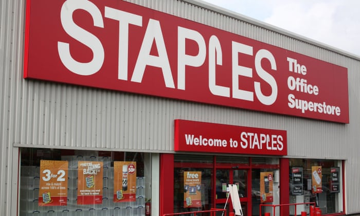 Staples sale takes jobs affected by retail failures in 2016