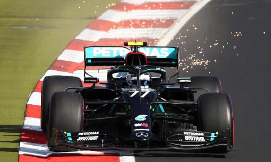 Valtteri Bottas during qualifying for the Eifel F1 GP at the Nürburgring