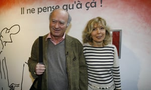 Georges Wolinski, seen here with his wife Maryse, was murdered during the January attack on the Charlie Hebdo offices in Paris.