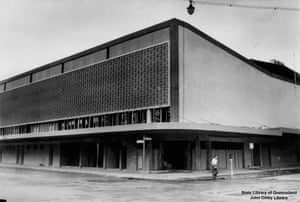 Festival Hall, corner of Albert and Charlotte Streets, 1959