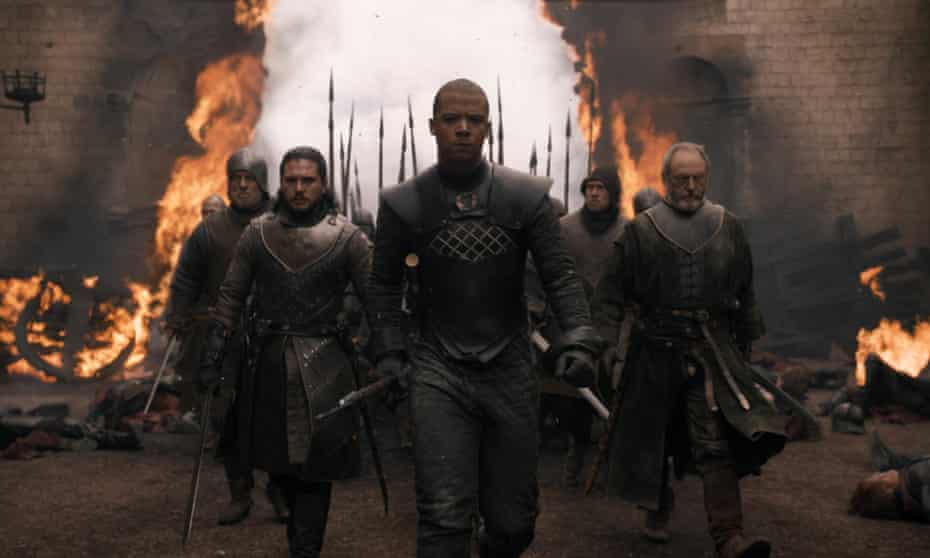 War is hell ... Game of Thrones.