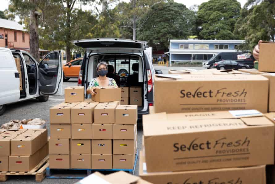 Addi Road Emergency Food Relief Hub in Marrickville.