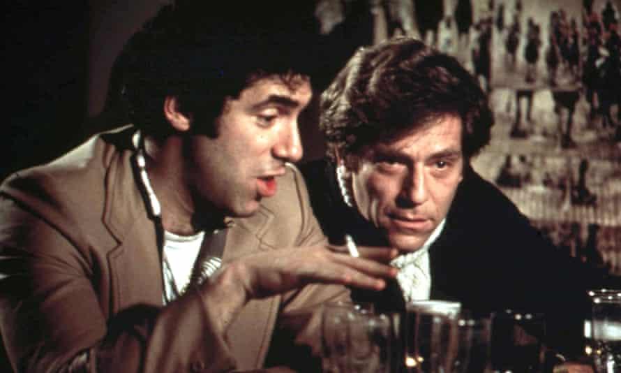 Segal, right, with Elliott Gould in California Split.