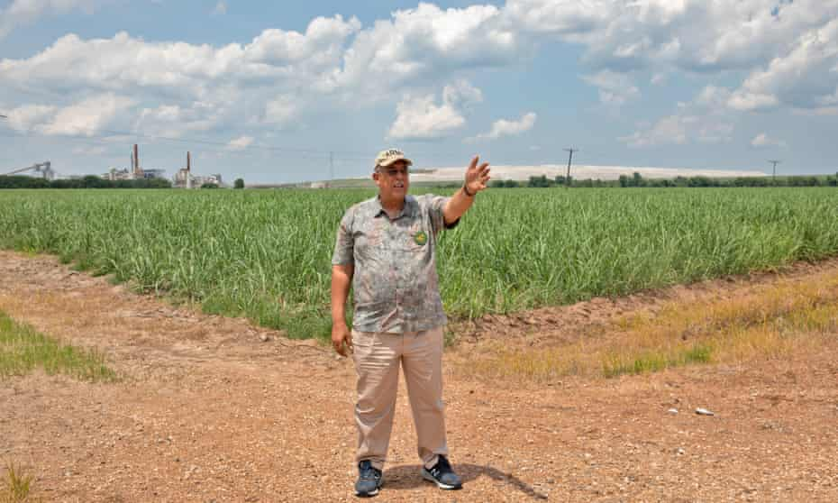 Lt Gen Russel Honoré on land that could become the site of an environmental disaster in Louisiana.