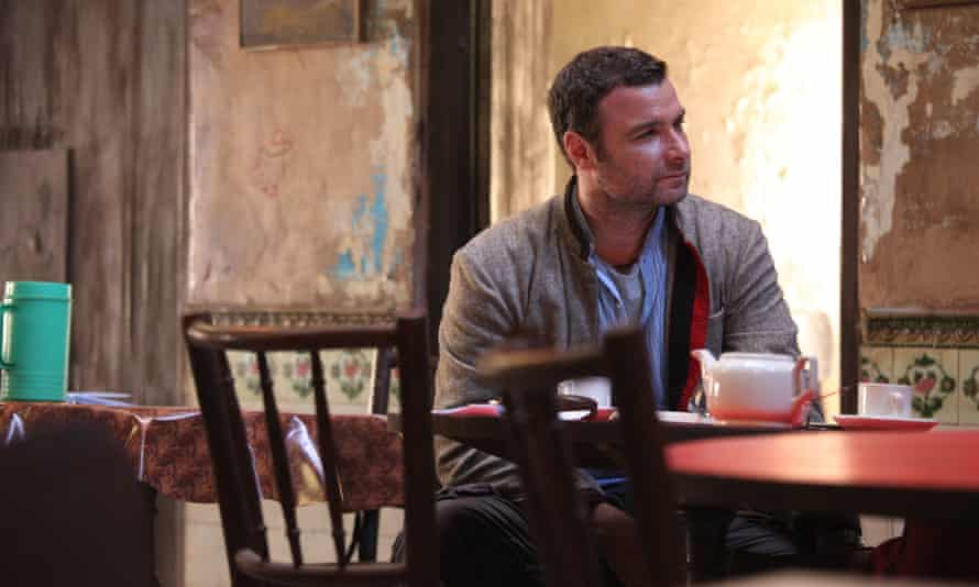 Innocent abroad … Liev Schreiber in the film of The Reluctant Fundamentalist