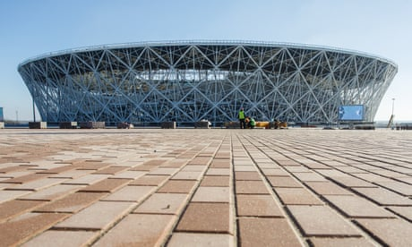 Russia 2018: a guide to the cities and stadiums for England's group games