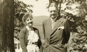 Emily Hale and TS Eliot in Dorset, Vermont, in 1946